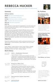 Bookkeeping Resume Samples Unique Bookkeeper Resume Samples VisualCV Resume Samples Database