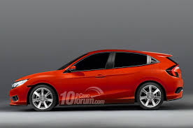honda civic hatchback 2016. Wonderful Hatchback 2016 Honda Civic Sedan Coupe U0026 Hatchback Renders Leaked  10th Gen  Forum In 0