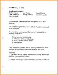 board of directors minutes of meeting template 7 board meeting minutes resume pdf