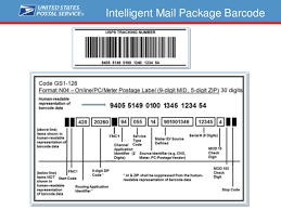 usps barcode format usps intelligent mail package barcode im pb implementation and be