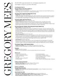 Journalist Resume Template Journalism Resume Template Best Examples Tips Broadcast Resumes 11