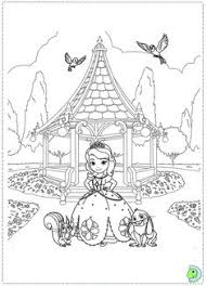 Kleurplaten On Sofia The First Coloring Pages 8684 Bestofcoloringcom