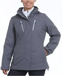 Tiffany 3 In 1 Systems Active Hooded Coat