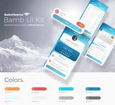 Bank Graphic Design Bank Of America Ui Kit Nikolay Boyanov Graphic Designer