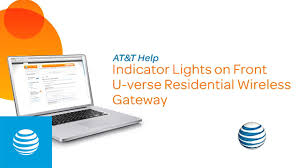 understanding your u verse wi fi gateway status lights at t internet support you