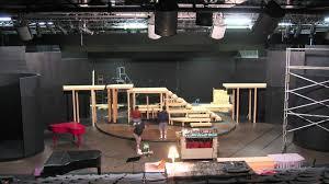 theatre set construction timelapse