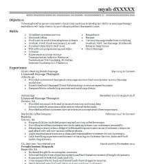 Massage Therapist Resume Enchanting Massage Therapy Resume Examples Beauty And Spa Resumes With Massage