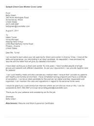 Aged Care Cover Letter Cover Cover Letter For Aged Care Job No
