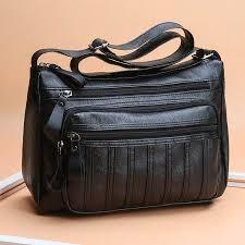 Women <b>Bags 2019 Soft Leather</b> Shoulder Crossbody <b>Bag</b> Large ...