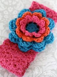 Crochet Flower Pattern For Headband Magnificent Free Crochet Headband Earwarmer Patterns Baby Sewing Ideas
