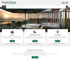 free html5 web template 25 free premium real estate html website templates