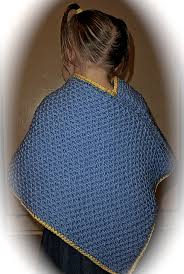 Poncho Patterns New Ravelry Loom Knit Toddler's Criss Cross Poncho Pattern By Faith Schmidt
