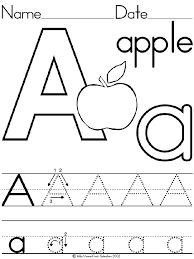 Pictures On Preschool Letter Worksheets Printable Easy Admirable ...