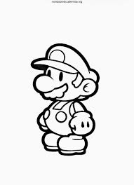 Mario Coloring Pages Free Mario Luigi Coloring Pages And Printable