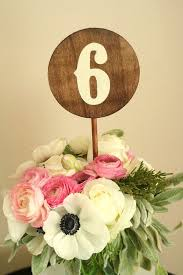 wood handmade wedding table numbers 1 10 made to order round rustic vintage wedding table numbers custom fonts and colors available