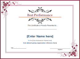 certificate of recognition templates top performer certificate template delli beriberi co