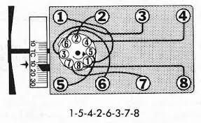 1970 ford 302 firing order