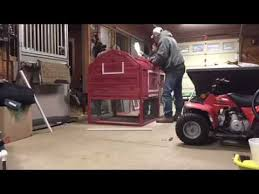 Building a Tractor Supply chicken coop