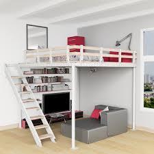 furniture save space. Plan Lit Mezzanine 2 Places Excellent Le Montage Duune Avec Idees Et Diy Loft Bed Kit Expand Furniture Beds That Save Space