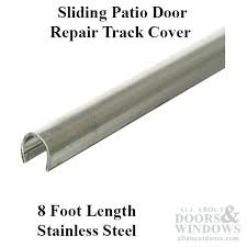 sliding glass door track cover track cover patio sliding glass door inch stainless steel sliding glass sliding glass door track