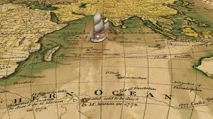 Map Of The World Background 71105341 Old Nautical Vintage World Map Theme Background Of The 8