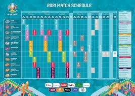 Il calendario delle partite di Euro 2020 - TeleNauta.it
