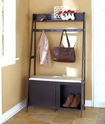 Entryway Coat And Shoe Rack Unique Coat Shoe Storage Domk