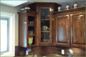 Small Kitchen Cabinet With Glass Doors Strattonsocietyorg