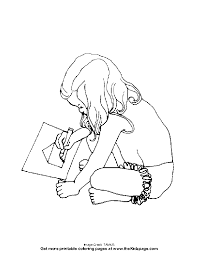 Small Picture Little Girl Coloring Free Coloring Pages for Kids Printable