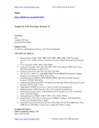 Iphone App Developer Resume Examples Simple Web Example For Job