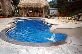 luxury fiberglass pools