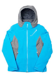 Womens Designer Ski Wear Sale Spyder Cheap High Fashion Spyder W15 Looker Jacket Blue