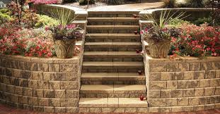 4 vibrant concrete options for your rochester backyard retaining wall