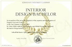 Degrees For Interior Design