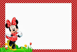 Free Minnie Mouse Birthday Invitations Free Minnie Mouse Birthday Party Invitation Template Free