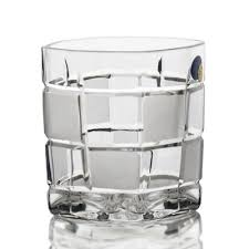 square cut crystal whiskey glasses set of 6