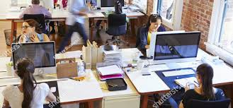 wide angle view busy design office. Exellent Wide Stockphotowideangleviewofbusydesignoffice Withworkersatdesks28451 With Wide Angle View Busy Design Office E