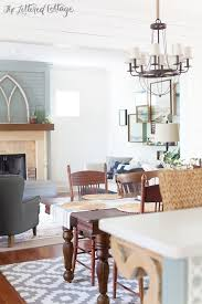 The Lettered Cottage Living Room Dining Room Farmhouse Style Decorating 600x900