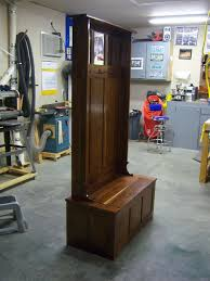 Building A Coat Rack Bench Hallway Butler Coat Rack Bench By Burt LumberJocks 34