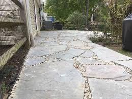 inspiring flagstone patio cost ideas using sealant