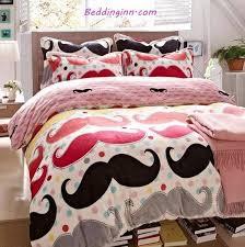 Superior Mustache Bed Set