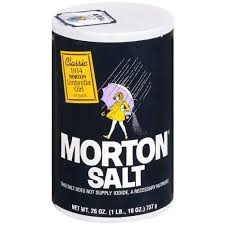 Kroger: Morton Sea Salt as low as $0.52! - Become a Coupon Queen | Morton  salt, Flea remedies, Natural cleaning products