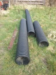12 inch black corrugated culvert pipe