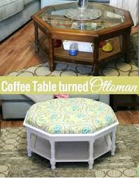fabric coffee table. Fabric Coffee Table Turning A Into Tufted Ottoman Detailed Tutorial Bean In