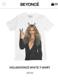 beyonce dropped a capsule holiday collection screenshot beyonce