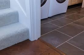 stairs carpet light beige tan cream laundry tile dark gray slate 13x19 kitchen floating cork brown