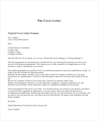 Free 12 Sample Example Cover Letter
