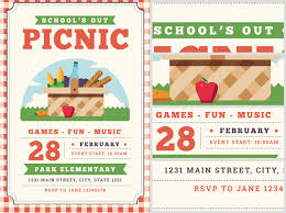Picnic Template Schools Out Picnic Flyer Template Flyerheroes