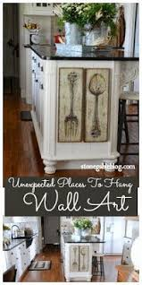 decor kitchen kitchen: unexpected places to hang wall art in the kitchen indoor decorating