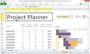Monthly Gantt Chart Excel Template Free Download Gantt Chart Excel Template Free Download Free Chart Excel
